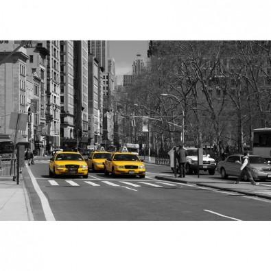 Fototapeta taksówki Nowego Jorku