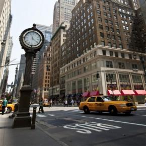 Ulica Nowego Jorku | optycznie powiększająca wnętrze