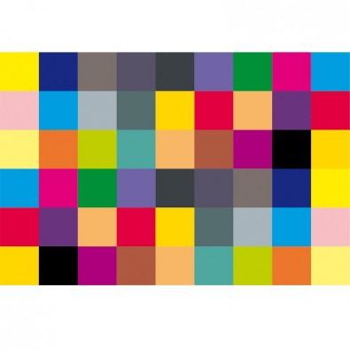 Fototapeta kwadraty na ścianę - kolorowe i modne