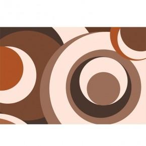 Beżowo - kremowo - brązowa | abstrakcja