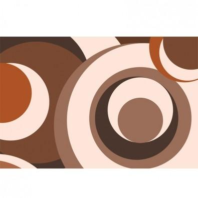 Beżowo - kremowo - brązowa | Fototapeta abstrakcja