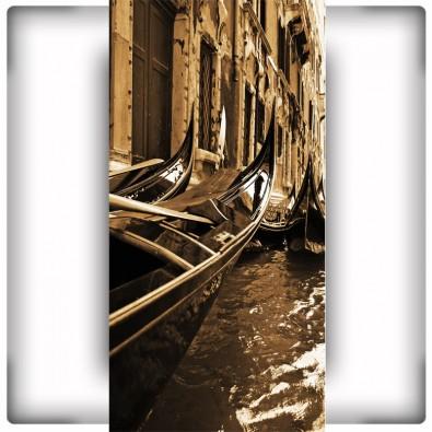 Gondole na wąską ścianę | Fototapeta do przedpokoju