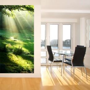 Fototapeta polana promienie słońca