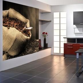 Fototapeta worek z kawą