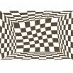 Fototapeta czerwone kwadraty - zmiana kolorystyki na sepię