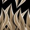 Fototapeta płomienie w sepii