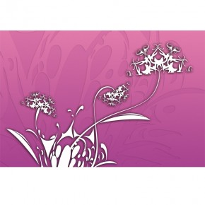 Fototapeta różowe dmuchawce
