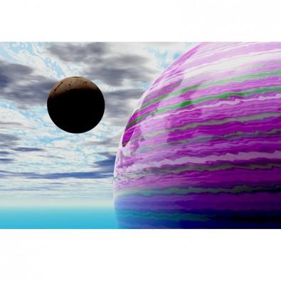 Fototapeta planety 3d
