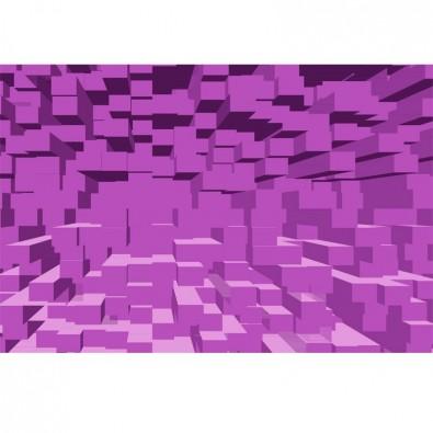Fototapeta fioletowe kwadraty