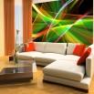 Fototapeta seza z abstrakcyjnym wzorem