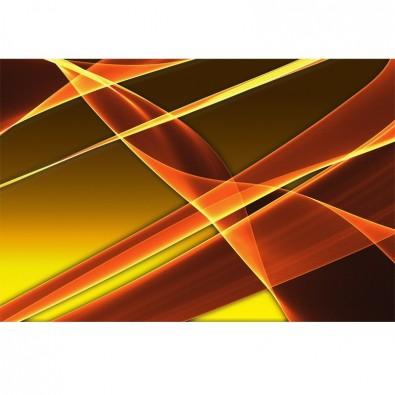 Fototapeta pomarańczowa abstrakcja