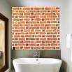 Imitacj cegły na ścianę