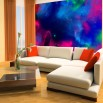 Fototapeta gwiazdozbiór Nebula - aranżacja salonu