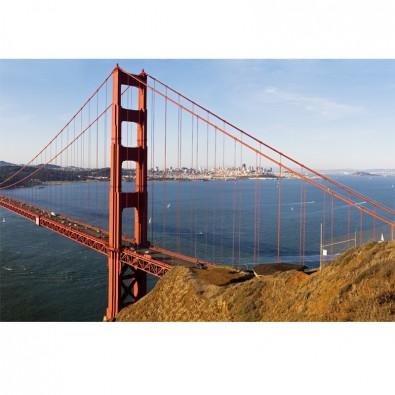 Fototapeta z filarem mostu Golden Gate | fototapety mosty