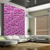 Fototapeta różowa perspektywa | abstrakcja