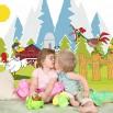 Fototapeta farma dla dzieci