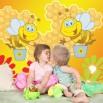 Fototapeta pszczółki dla dzieci