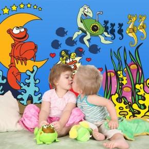 Fototapeta zakochane raki dla dzieci