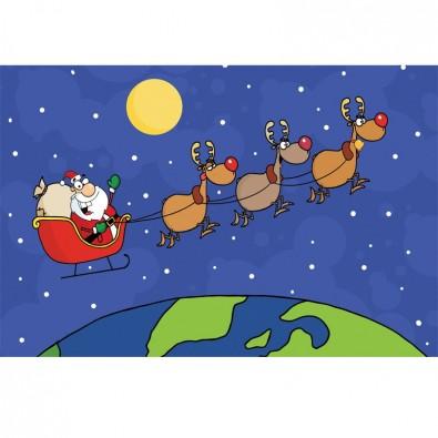 Fototapeta Św. Mikołaj dla dzieci