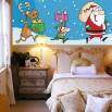 Fototapeta Św. Mikołaj i pomocnicy dla dzieci