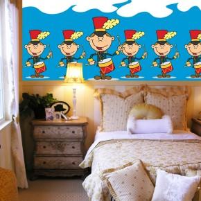 Fototapeta za łóżko Dobosz - dla dzieci