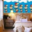 Mata za łóżko dla dzieci mały dobosz
