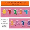 Fototapeta matematyka cyfry dla dzieci