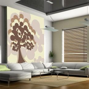 Fototapeta jemioła | fototapeta abstrakcja z drzewem