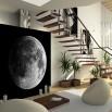 Fototapeta księżyc na ścianie w salonie