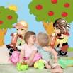 Fototapeta dziewczynki dla dzieci