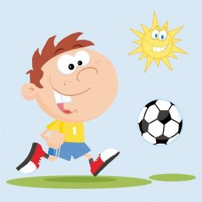 Fototapeta piłka nożna dla dzieci