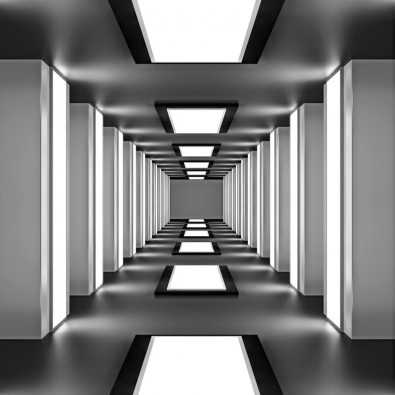 Fototapeta Anatema tunelu