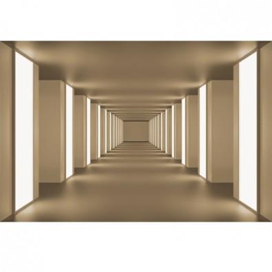 Fototapeta beżowy tunel
