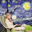 Aranżącja fototapety Van Gogh