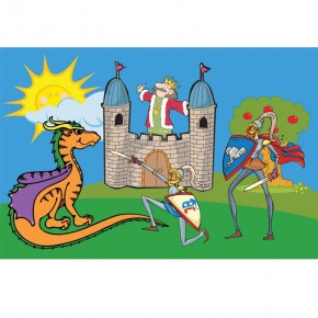 zamek - dla dzieci