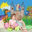 Fototapeta zamek dla dzieci