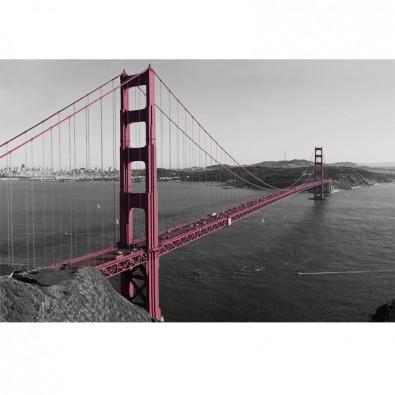 Fototapeta szara przeprawa mostowa Złote wrota