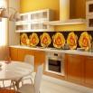 ASZmywalna fototapeta do kuchni z różami_Róże