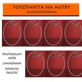 czerwony panel