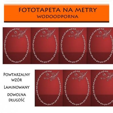 Fototapeta czerwony panel | fototapety na metry