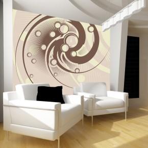 Fototapeta spiralne koła