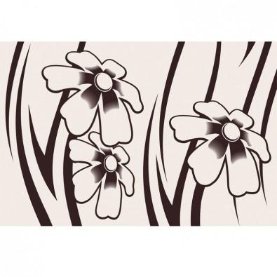 Fototapeta kwiaty - ornament