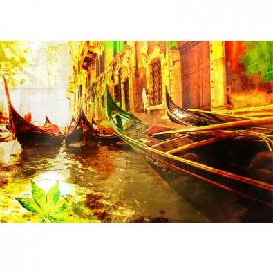 Fototapeta gondole w Wenecji