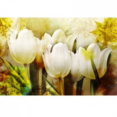 Fototapeta kwiaty vintage