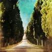Fototapeta włoski krajobraz retro