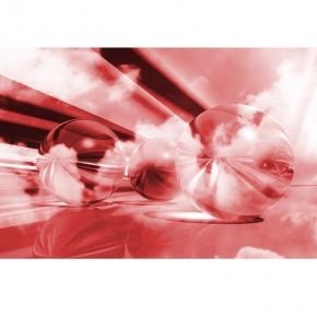 Fototapeta kule czerwone