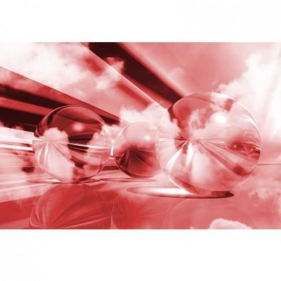 Fototapeta czerwone kule