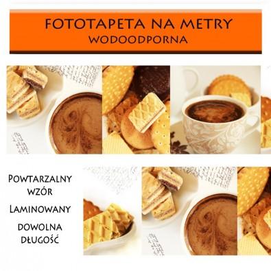 Fototapeta z kolażem zdjęć o tamatyce kawy