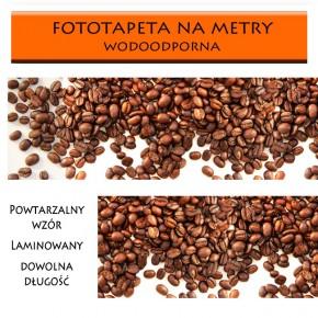 Fototapeta laminowana z kawowymi ziarenkami