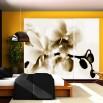Fototapeta orchidea beżowa do salonu